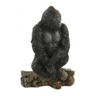 Gorilla Sitting on Branch